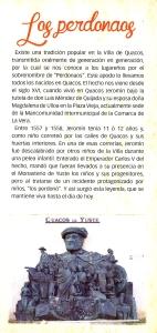 """Historia de """"los perdonaos"""". Turismo de Cuacos de Yuste"""