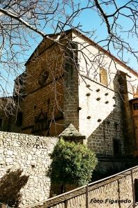 iglesia del monasterio de Yuste. Foto Figaredo, Gijón
