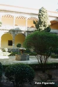 Claustro nuevo. Monasterio de Yuste. Foto Figaredo, Gijón