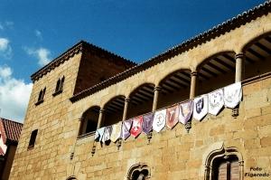 Palacio en Plasencia. Foto Figaredo, Gijón