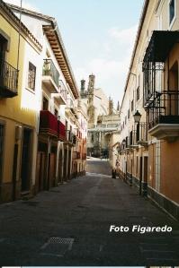 calle que lleva a la Plaza Mayor. Foto Figaredo, Gijón