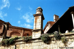rincón junto a las murallas. Foto Figaredo, Gijón