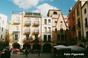 Plaza Mayor. Foto Figaredo, Gijón