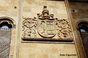 escudo noble. Foto Figaredo, Gijón