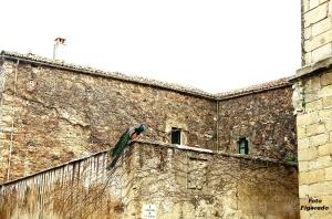 patio de un palacio. Foto Figaredo, Gijón