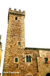 Torre de las Cigueñas. Foto Figaredo, Gijón