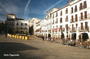 Plaza Mayor de Cáceres. Foto Figaredo, Gijón