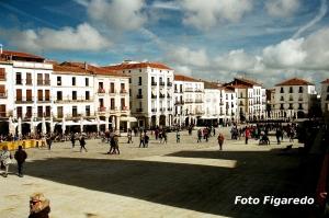 Plaza Mayor, vista parcial. Foto Figaredo, Gijón