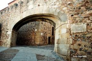 Arco de la Estrella. Foto Figaredo, Gijón