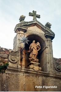 Virgen de la Estrella. Foto Figaredo, Gijón