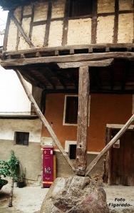 la casa de la piedra. Foto Figaredo, Gijón