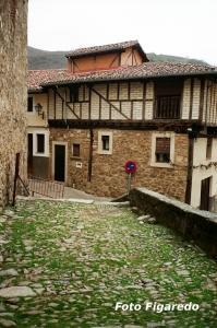 típica arquitectura medieval. Foto Figaredo, Gijón