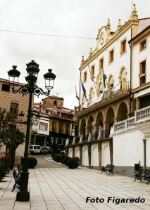 Ayuntamiento de Jaraiz de la Vera. Foto Figaredo, Gijón
