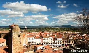 Vista parcial de Trujillo. Foto Figaredo, Gijón