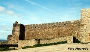 Castillo de Trujillo, vista parcial. Foto Figaredo, Gijón