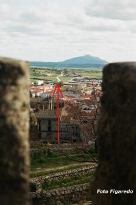 Ruta de la Plata desde el castillo. Foto Figaredo, Gijón