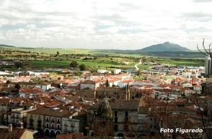 Trujillo, desde el Castillo. Foto Figaredo, Gijón