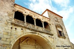 Convento de monjas en Trujillo. Foto Figaredo, Gijón