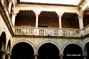 Claustro del convento. Foto Figaredo, Gijón