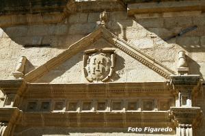 escudo en Trujillo. Foto Figaredo, Gijón