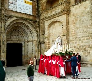 procesión de Semana Santa. Foto Figaredo, Gijón