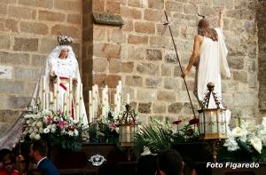Semana Santa en Coria. Foto Figaredo, Gijón