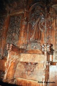 Coro de la catedral de Coria. Foto Figaredo, Gijón