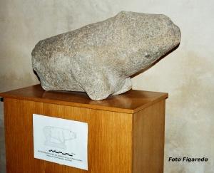 resto arqueológico. Foto Figaredo, Gijón