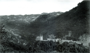 Covadonga en 1.928. Foto de Loty