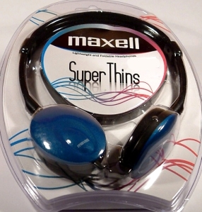 auriculares Maxell. Foto Figaredo, Gijón