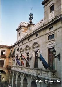 Ayuntamiento de Ávila. Foto Figaredo, Gijón