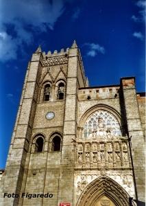 Catedral de Ávila. Foto Figaredo, Gijón