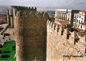 Torreón de la muralla. Foto Figaredo, Gijón