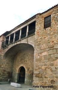 Palacio en Ávila. Foto Figaredo, Gijón