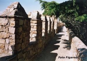 Paseo sobre las murallas de Ávila. Foto Figaredo, Gijón