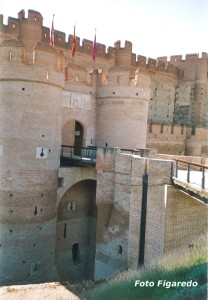 entrada al Castillo de la Mota. Foto Figaredo, Gijón