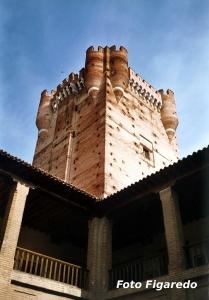 Torre del Homenaje en Castillo de la Mota. Foto Figaredo, Gijón
