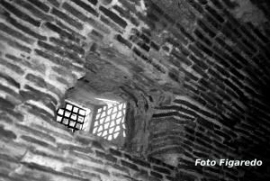 Mazmorra en Castillo de la Mota. Foto Figaredo, Gijón
