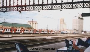 Estación de Medina del Campo. Vista parcial. Foto Figaredo, Gijón
