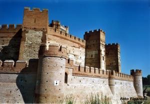 Vista parcial del Castillo de la Mota. Foto Figaredo, Gijón