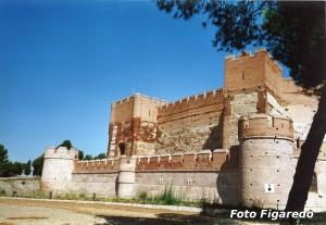 lateral del Castillo de la Mota. Foto Figaredo, Gijón