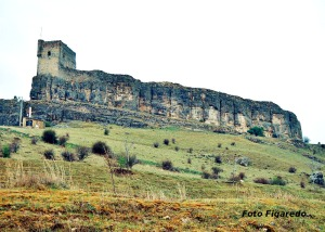 Castillo de Atienza. Foto Figaredo, Gijón