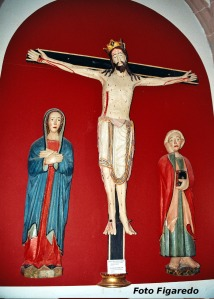 Cristo de los Cuatro Clavos. Foto Figaredo, Gijón.