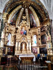 Retablo Iglesia de La Trinidad. Foto Figaredo, Gijón