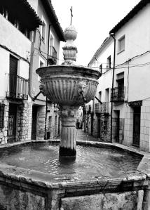 Fuente de los Cuatro Caños. Foto Figaredo, Gijón.