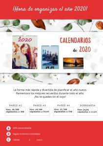 Calendarios en Foto Figaredo, Gijón