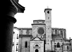 Catedral de Sigüenza, vista parcial. Foto Figaredo, Gijón