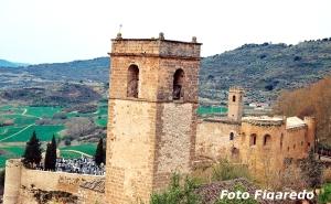 Castillo de la Piedra Bermeja, vista parcial. Foto Figaredo, Gijón