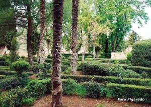 Jardines Románticos de la Real Fábrica de Paños. Foto Figaredo, Gijón