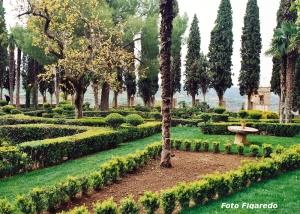 Jardines Románticos Real Fábrica de Paños. Foto Figaredo, Gijón